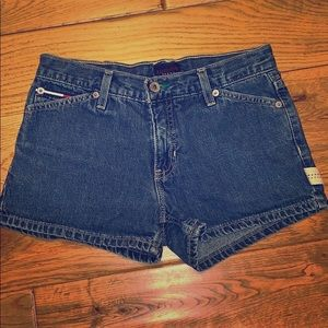 Vintage Tommy jean shorts size one